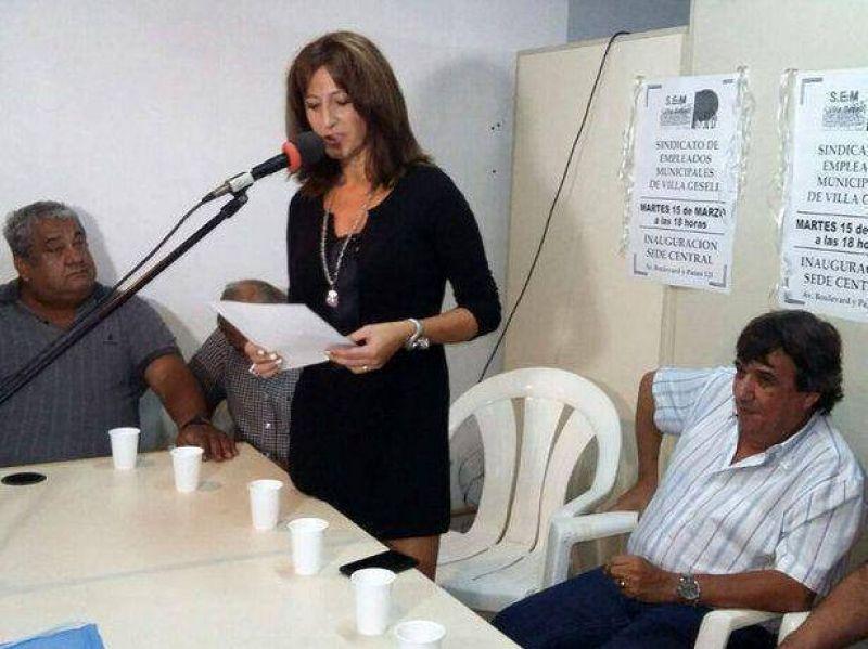 El Sindicato de Empleados Municipales inauguró local