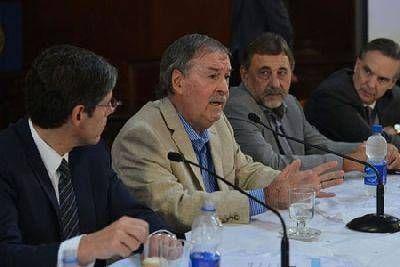 """Necesitamos recursos para combatir el déficit"", sostuvo Schiaretti"