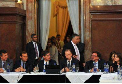 Bordet pidi� a los senadores nacionales que acompa�en el acuerdo con los fondos buitres