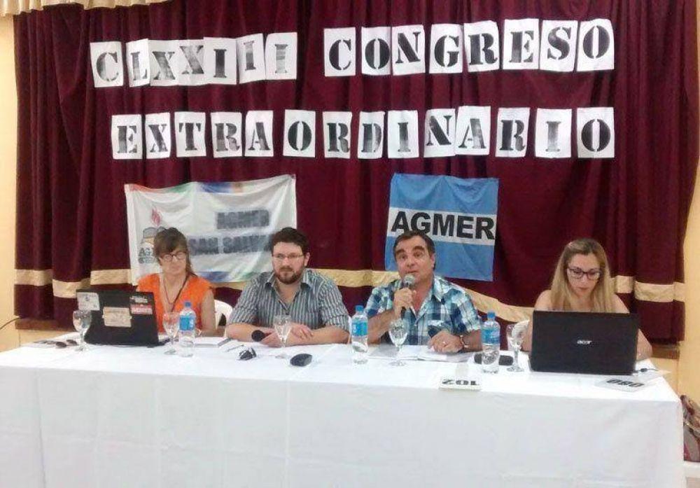 Agmer aceptó la propuesta salarial