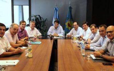 Jorge Macri se reunió con intendentes de la Quinta, Sexta y Séptima Sección