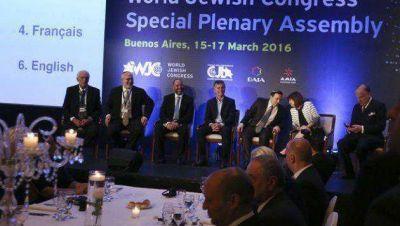 El Congreso Judío Mundial alza la voz en defensa de Israel y contra el terrorismo