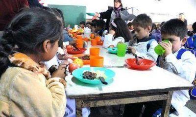 Comedores: recuperan 800 cupos del Servicio Alimentario Escolar