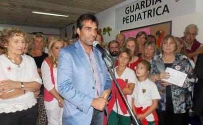 INAUGURARON LA GUARDIA PEDIÁTRICA