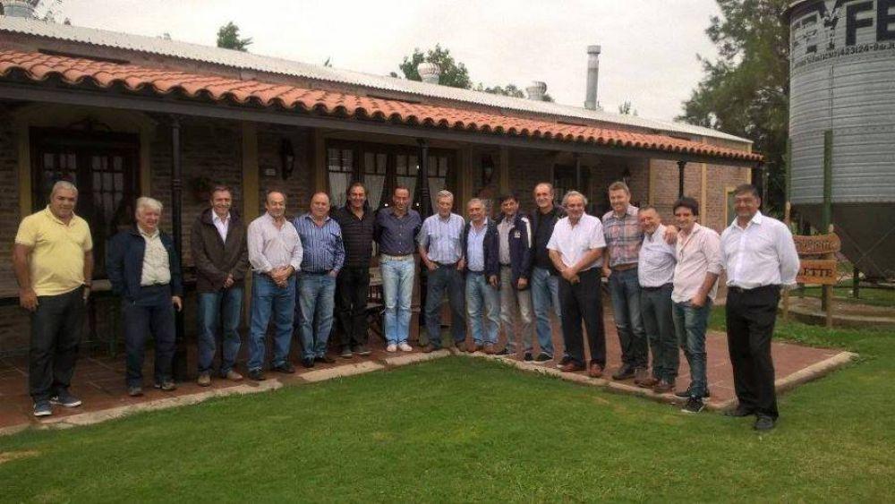 Toda la dirigencia peronista se reúne en Roque Pérez