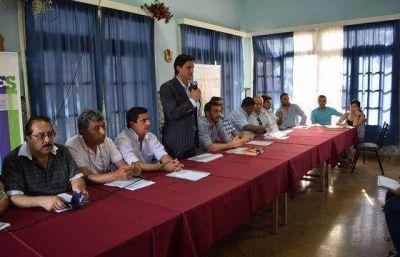 Deportes present� a los municipios el Plan 2016