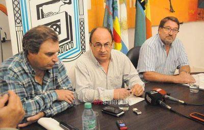 Salom�n y funcionarios municipales mantuvieron varias reuniones a nivel provincial