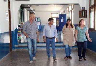 Recorrida por el Taller Protegido e instituciones de San Manuel
