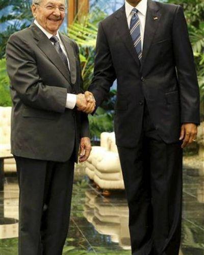 Obama y Castro marcan