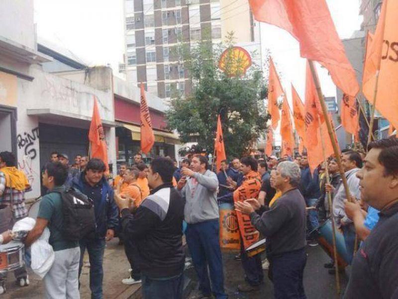 Marcha de la UOM por calles c�ntricas