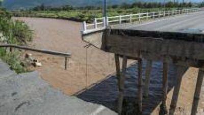 Se repararon seis de los puentes caídos por las fuertes lluvias del 2015