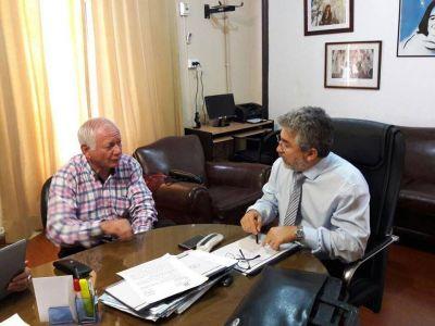 Jalile se reunió con el ministro Gutiérrez