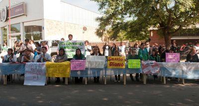 Sin respuestas al pedido de aumento, el conflicto docente sigue sin solución
