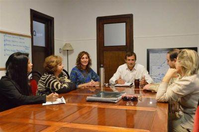 Se realizó una jornada de trabajo con autoridades de la Región Sanitaria IX