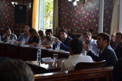 San Fernando plante� la necesidad de obras en el Comit� de la Cuenca del R�o Luj�n