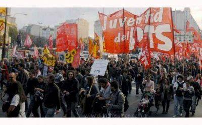 El PTS Pilar marcha por el Día de la Memoria y en contra de Macri y Obama
