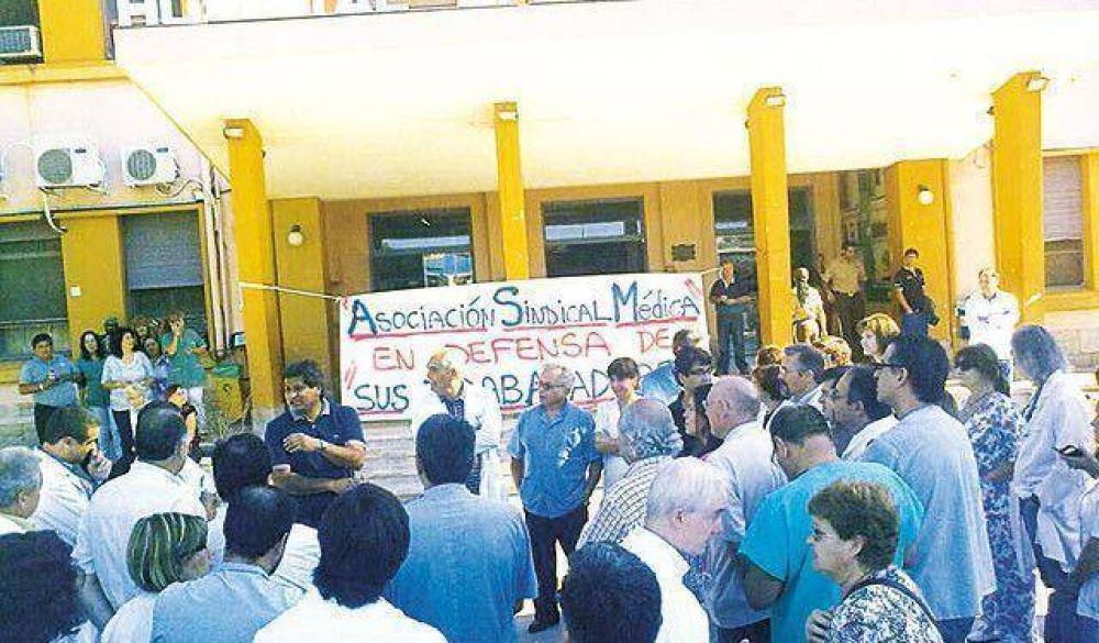 Sindicato Médico anunció la lucha y convocaron a paro el 7 de abril