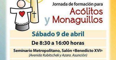 Jornada de Formación para Acólitos y Monaguillos