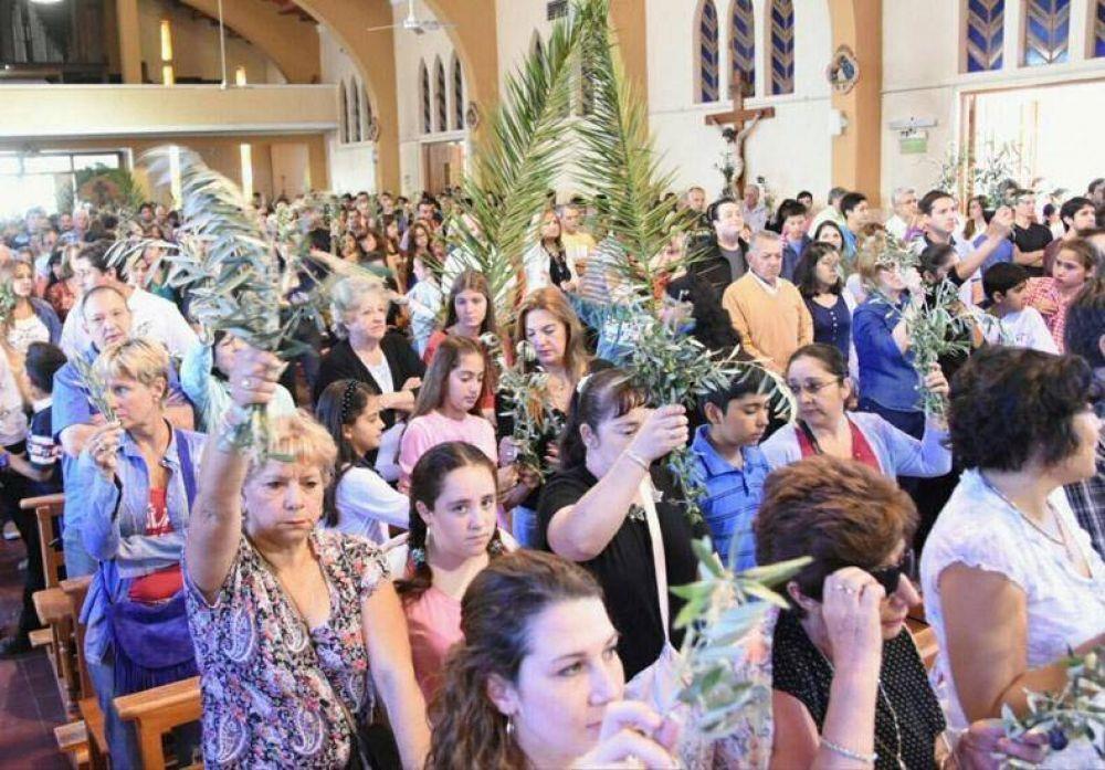 Domingo de Ramos: Los obispos llamaron a expresar la fe mediante obras