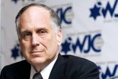 Presidente del Congreso Judío Mundial:
