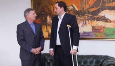 Mera se reunió con el Ministro de Energía y Minería de la Nación
