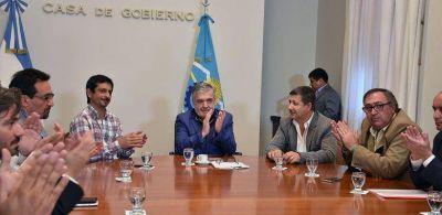 Das Neves firmó reactivación de obras por casi 1.500.000 pesos de inversión