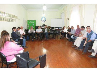 Con la presencia de Sergio Pérez Rozzi se llevó a cabo en Dolores un encuentro de áreas de Producción de la Región