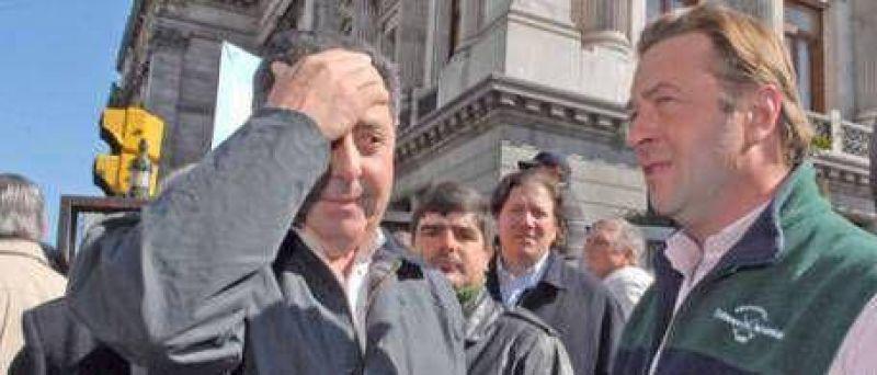Alfredo De Angeli no pudo entrar al Senado