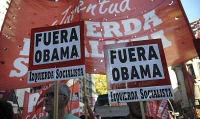 Agrupaciones de izquierda repudiaron la visita de Obama