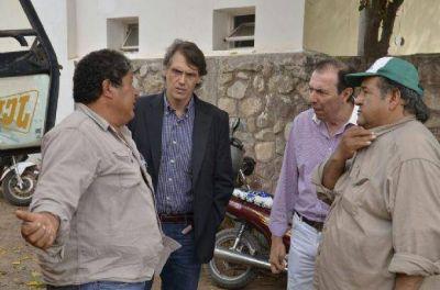Kosiner aseguró que colaborará con el desarrollo de Coronel Moldes