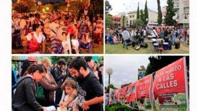 El Frente de Izquierda realizó una jornada cultural en Morón para conmemorar el 24-M