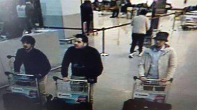 Identifican a tres de los atacantes de Bruselas y un cuarto est� pr�fugo