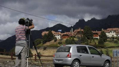 Bariloche, fortificada, recibe hoy a Obama