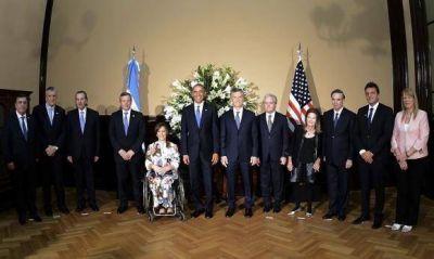 Gioja y Obama, juntos