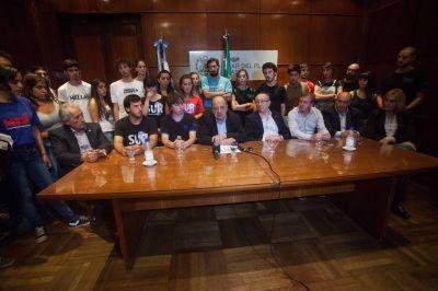 El Boleto Universitario fue presentado en sociedad y elevado al HCD