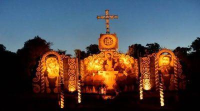 Así recuerdan en Semana Santa la visita del Papa Francisco a Paraguay