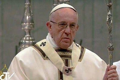 Texto completo de la homilía del papa Francisco en la misa del Jueves Santo