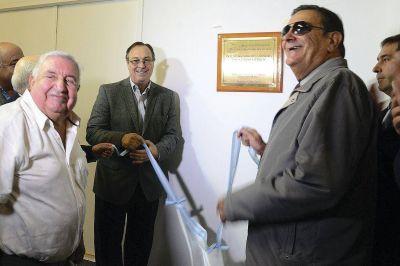 Se descubrió una placa conmemorativa a 40 años del Golpe de Estado