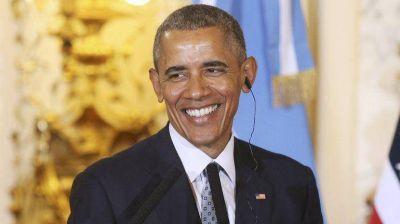 Obama llega a Bariloche cautivado por sus paisajes