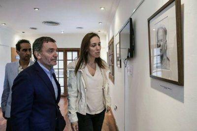 Vidal visitó el centro clandestino de detención