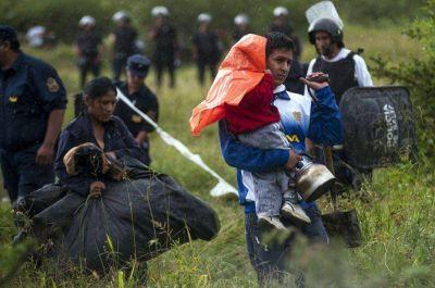 Más de 200 familias se asentaron en un baldío y fueron desalojadas