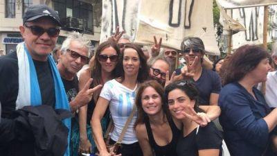 Qué actores estuvieron en Plaza de Mayo