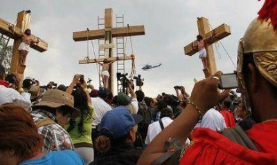 El más grande de los Vía Crucis