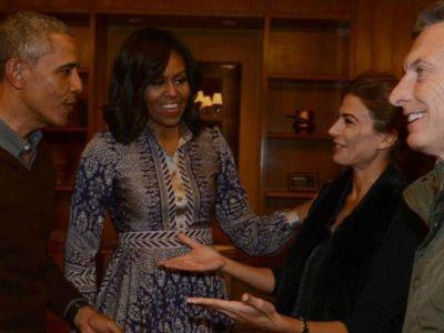 Obama pasó la tarde en Bariloche y ya emprendió su regreso
