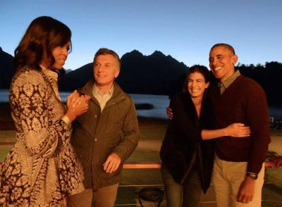 Macri despidió a Obama en Bariloche antes de que emprendiera su regreso a EEUU