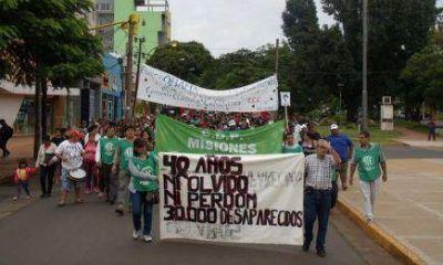 """""""Reclamamos Justicia por las violaciones a los Derechos Humanos del pasado y el presente"""""""