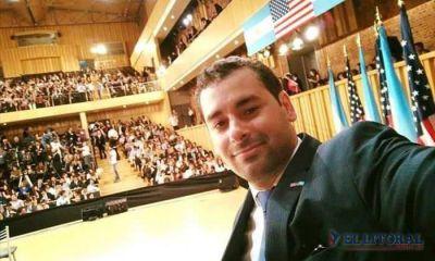 Jóvenes correntinos conocieron la visión de Obama sobre temáticas actuales