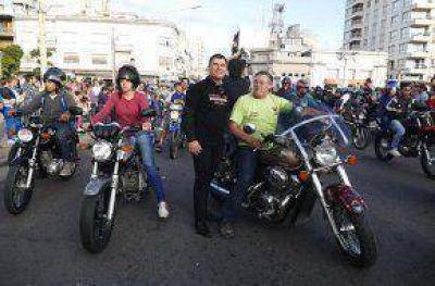 El Intendente Bertellys participó del XXVII Encuentro Mototurístico