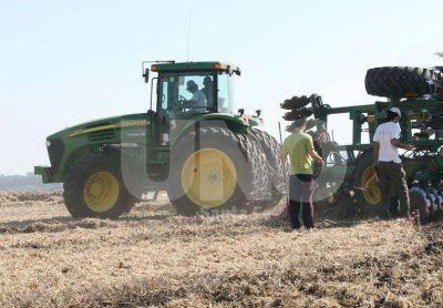 A buen ritmo se cosechan soja, maíz, sorgo y arroz en la provincia