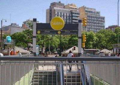 """Subte: inauguran la nueva estación """"once-30 de diciembre"""""""